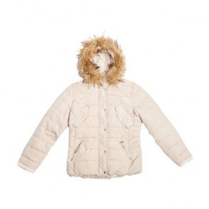 sewa-Perlengkapan Musim Dingin-H&M Ladies White Winter Jacket