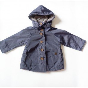 sewa-Perlengkapan Musim Dingin-Zara Baby Navy Winter Jacket 18 - 24 Bulan