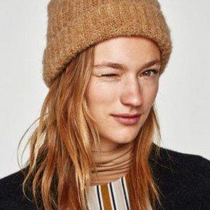 sewa-Perlengkapan Musim Dingin-Zara Woman Oversized Hat (Dewasa)